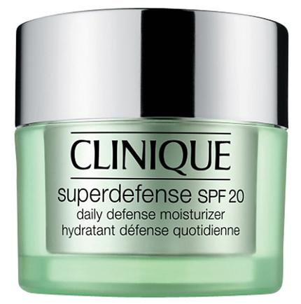 CLINIQUE Superdefense Daily Defense Moisturizer SPF20.