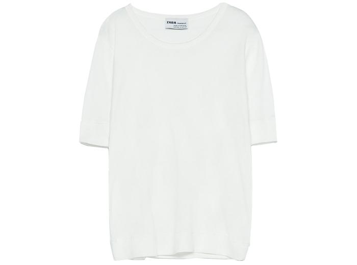 5. T-shirt, 129 kr, Zara