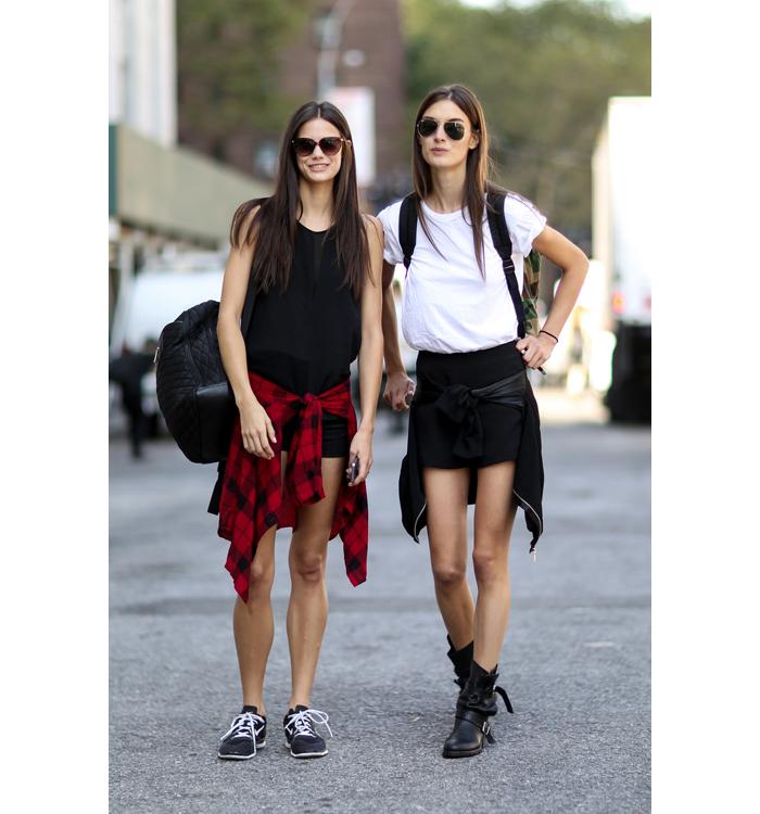New York street style models 5