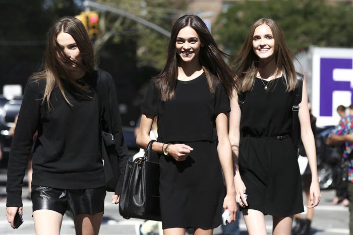 New York street style models