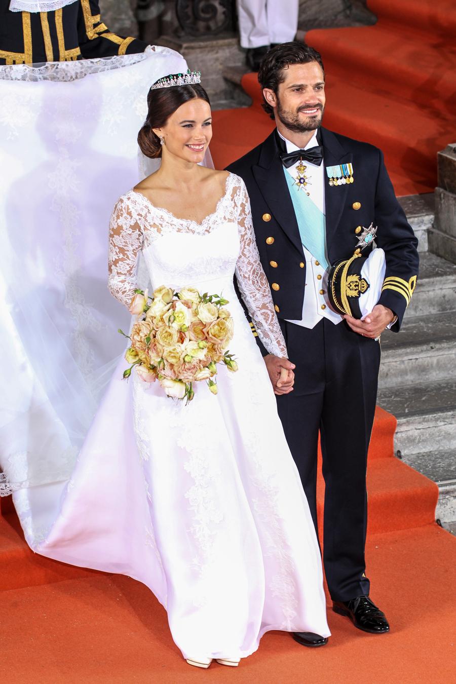 Prinsessan Sofias brudklänning! | ELLE