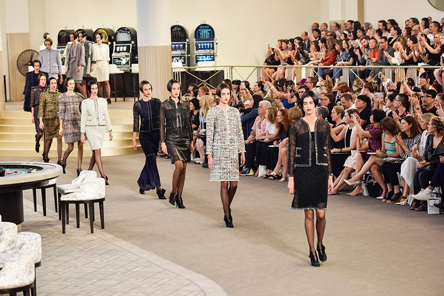 At the Chanel Casino, Kristen Stewart's a High Roller and Kendall Jenner's aBride
