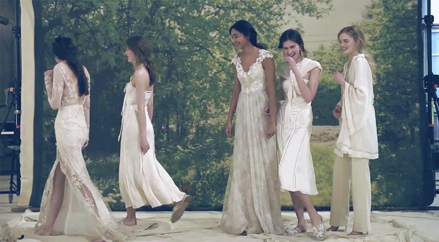 Elle Tv Brollopsmode For Bade Brud Och Gaster Elle