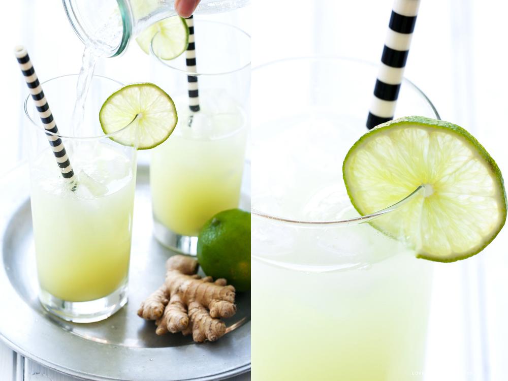 Drink med ingefära