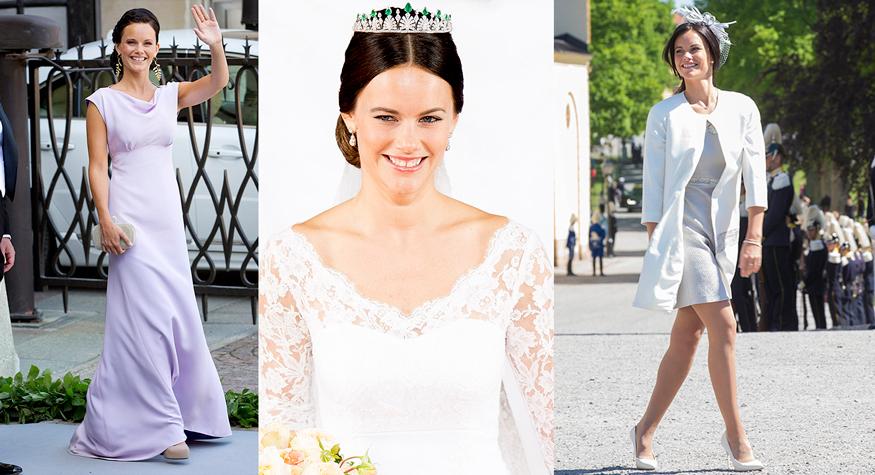 Prinsessan Sofias 37 vackraste klänningar | ELLE