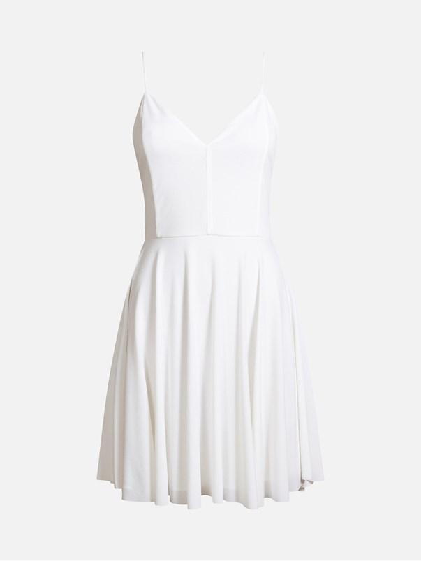vit klänning student