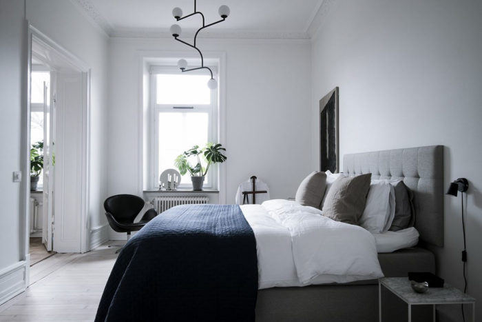 snygga lampor sovrum