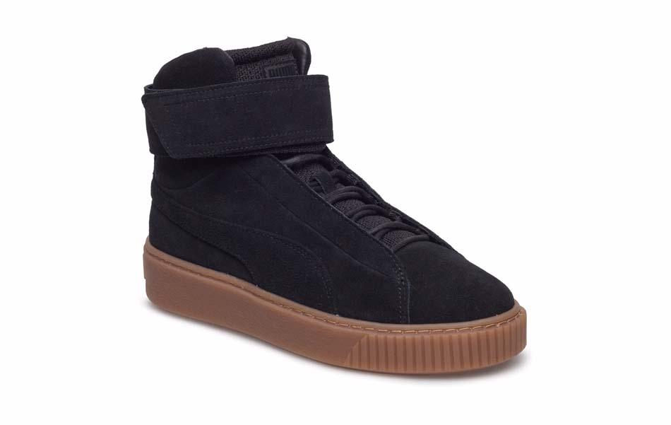 sneakers på vintern