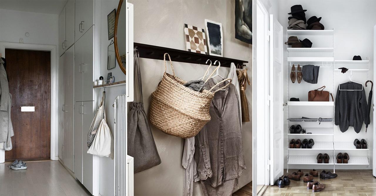 Fram med solglasögonen! | Garderob, Hall, Småförvaring, Tips