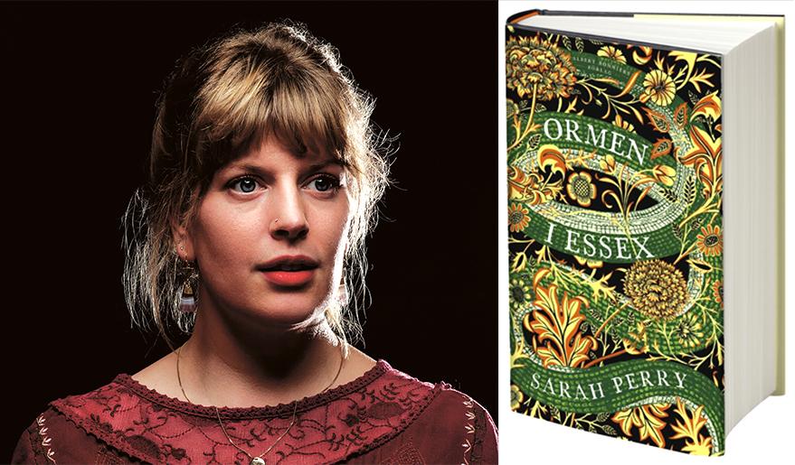 Sarah Perry och boken Ormen i Essex.