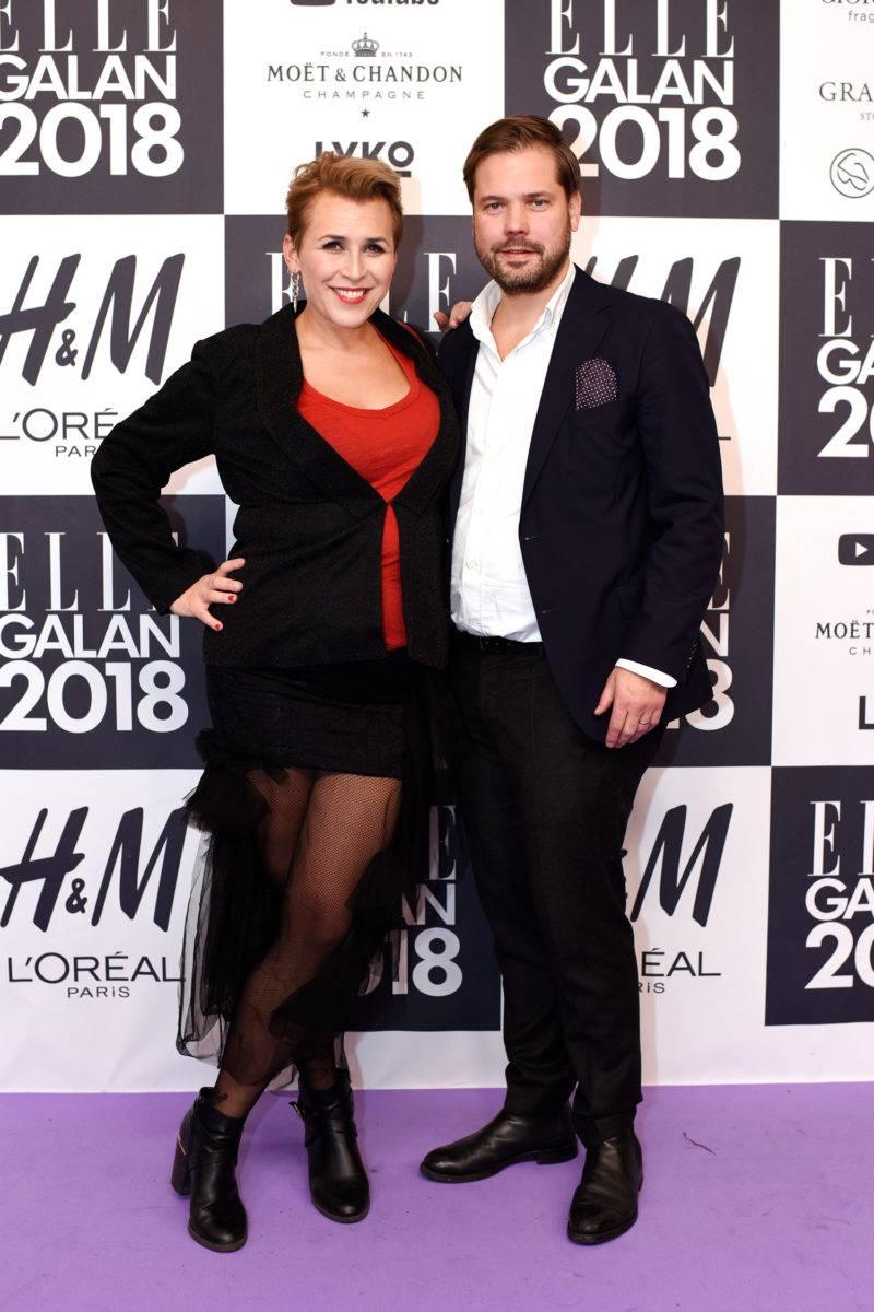 Hannah Widell och Gustaf Wallin