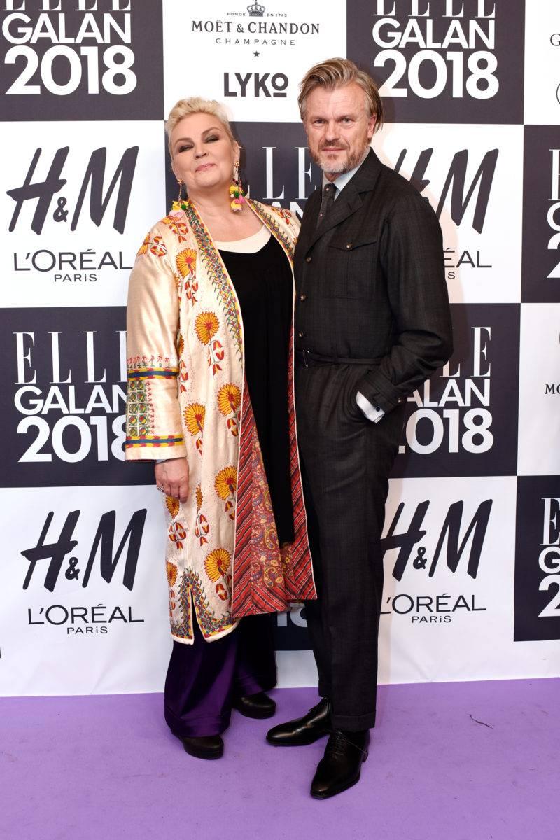 Anna Holtblad och Tomas Sandel