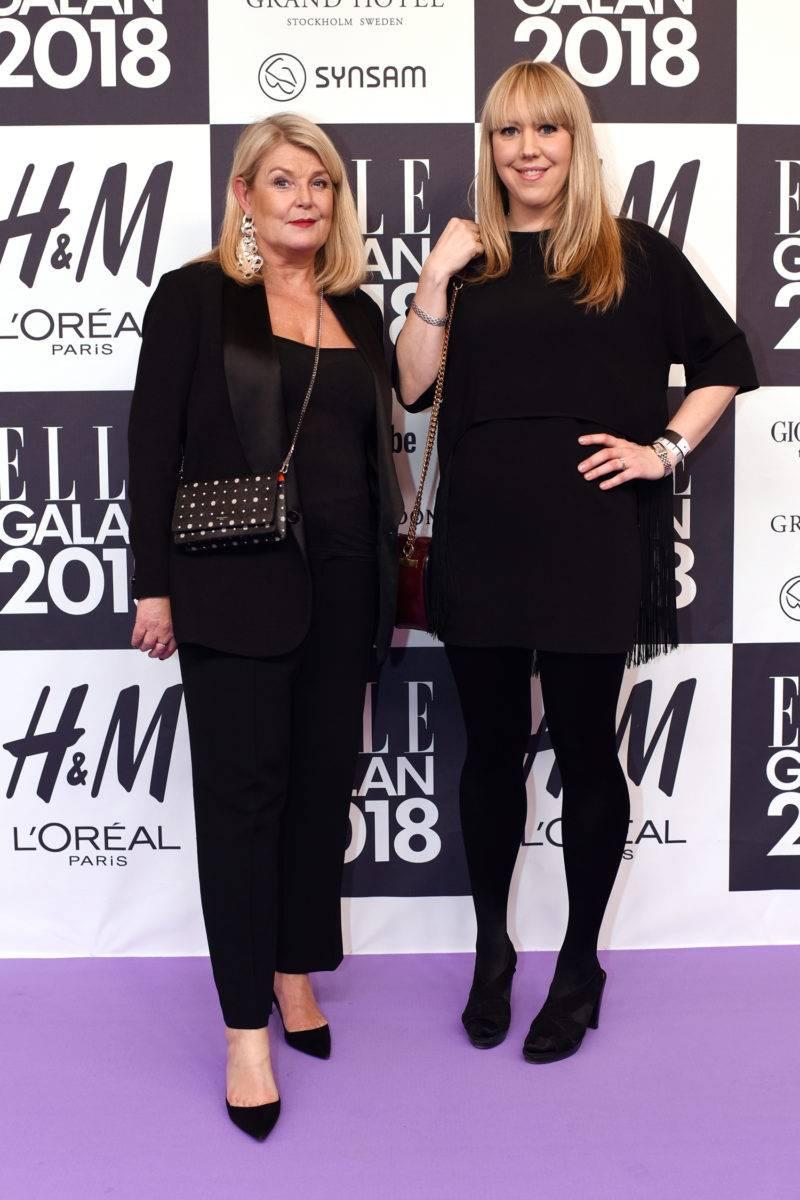 Kristina Brusvall och Lovisa Lundström