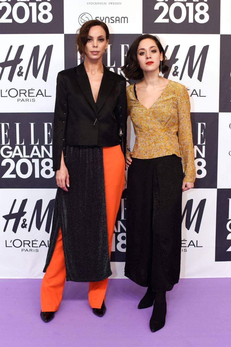 Pauline de Sera och Claudia Trujillo