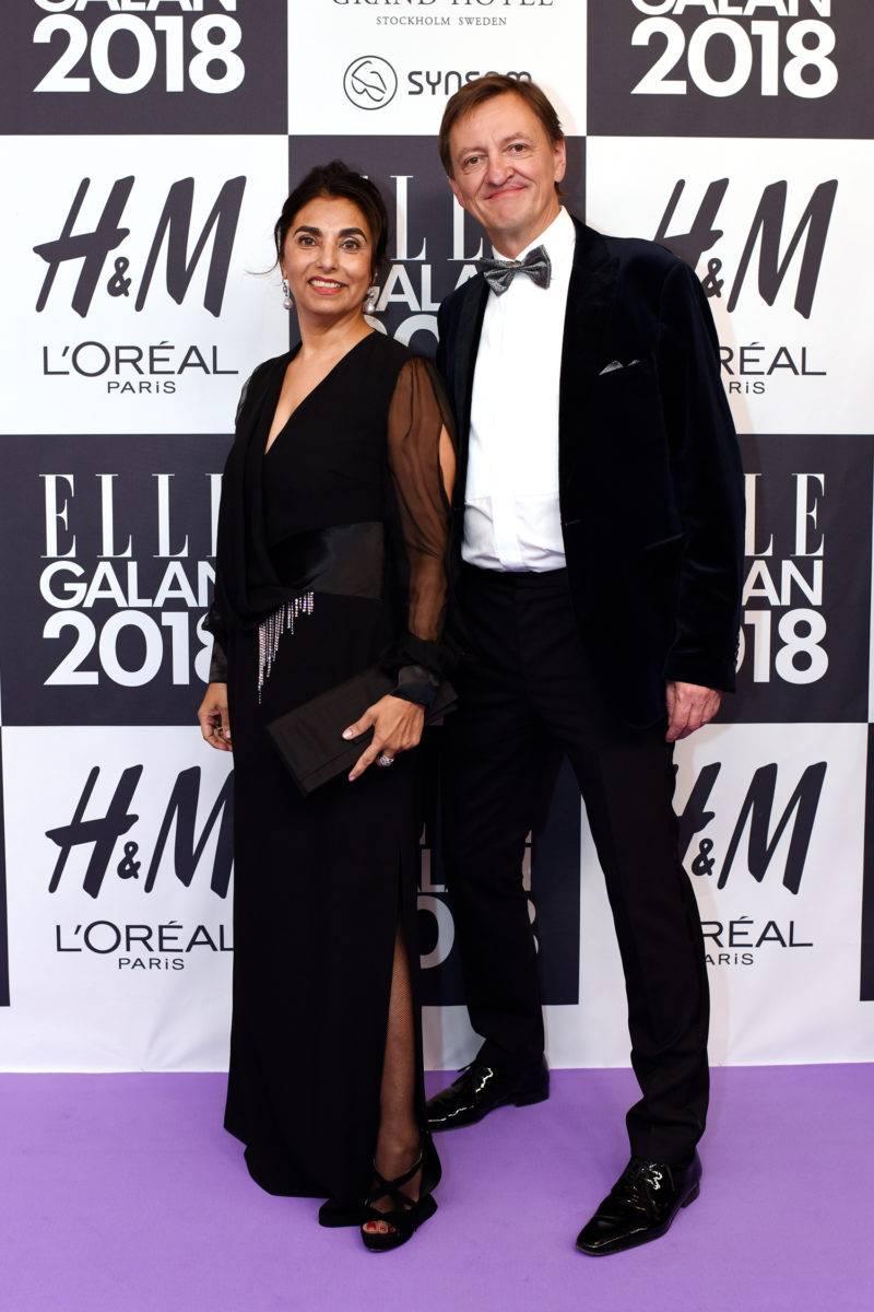 Fatima och Erik Aller