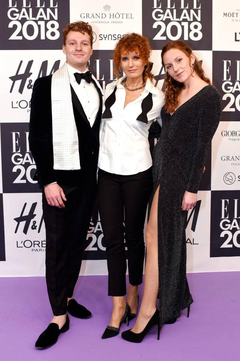 Christopher, Bettina och Emily Aller