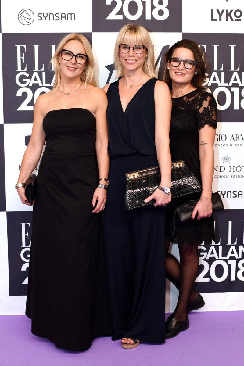 Susanne Westford, Ida Malmblad och Elin-Helena Vättö