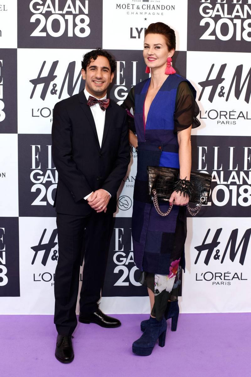 Årets bäst klädda man Ardalan Shekarabi och Therese Shekarabi