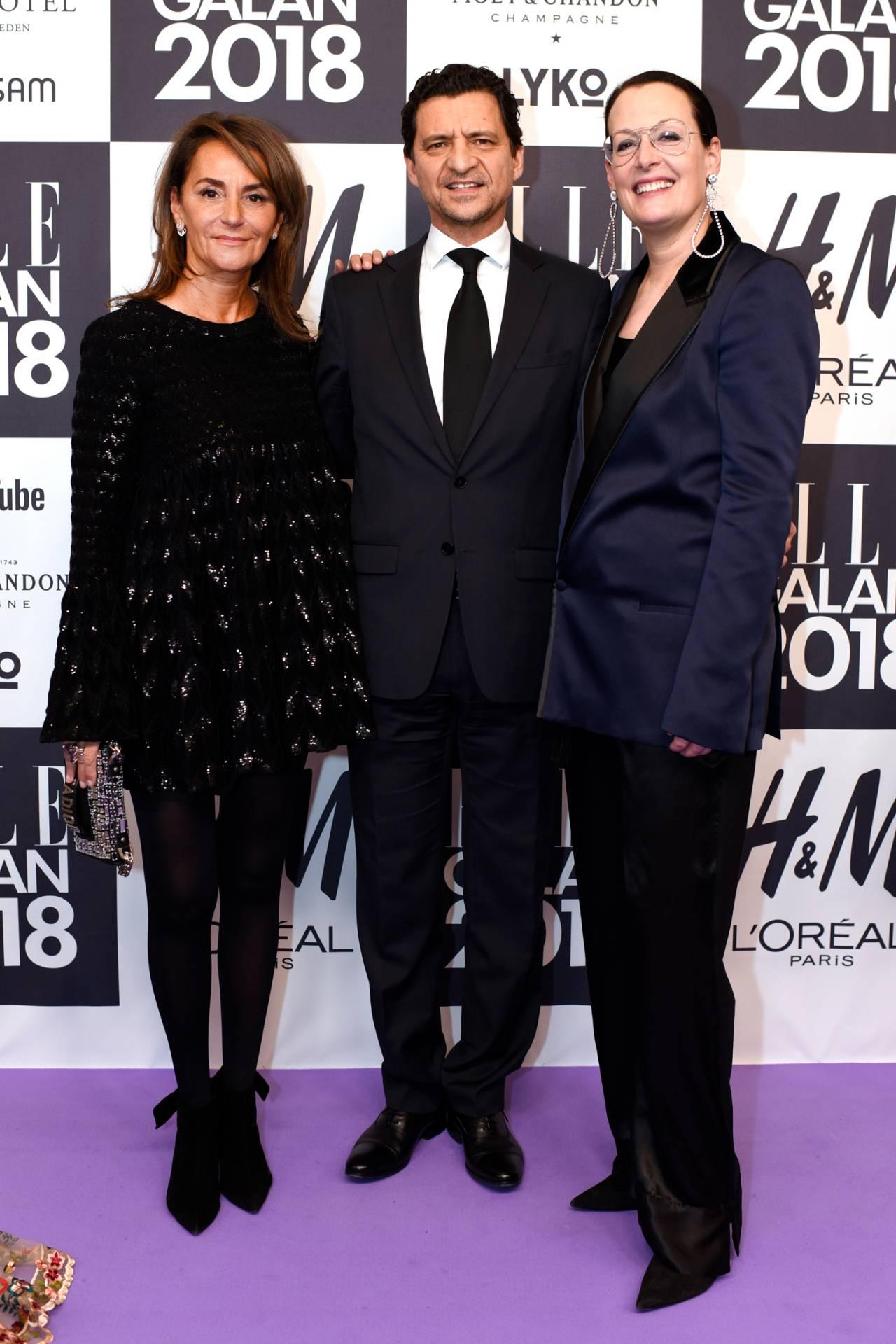 Constance Benqué, François Coruzzi och Cia Jansson