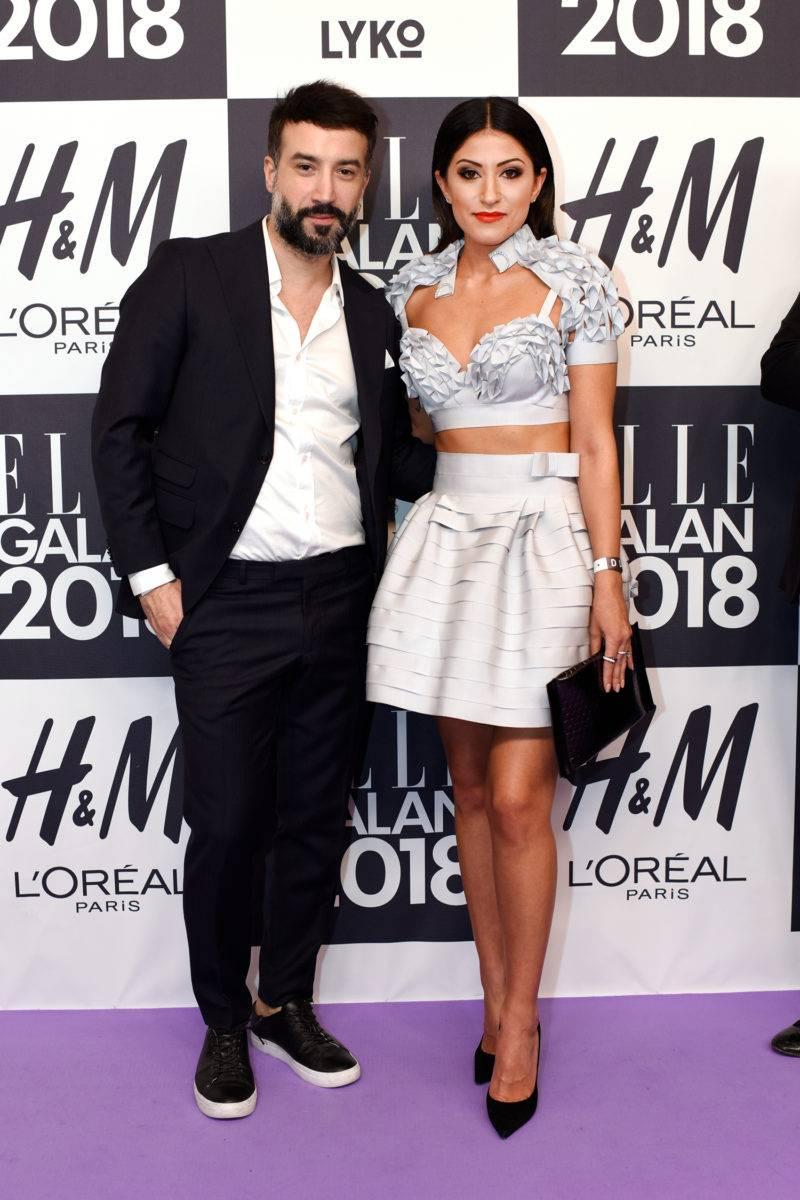 Antonio Axu och Nikki Amini