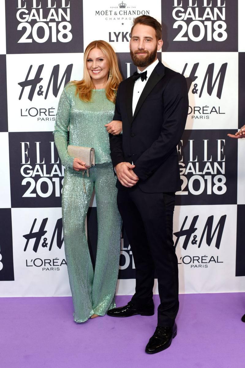 Jessica Almenäs och Patrik Fahlgren