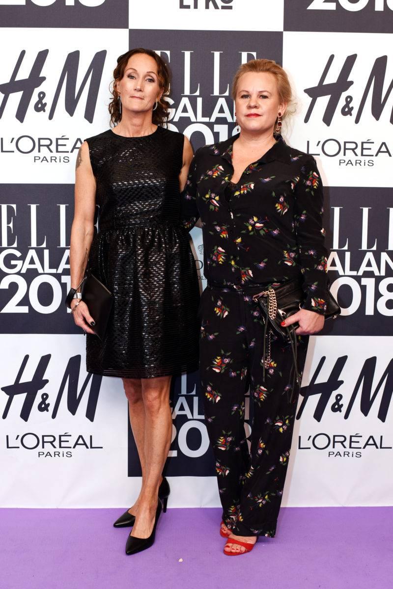 Unni Warner och Åsa från vinnaren Sabina and friends