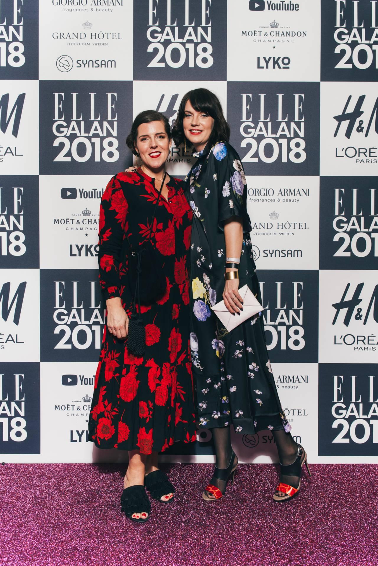 Stina Samolov och Carin Hellman