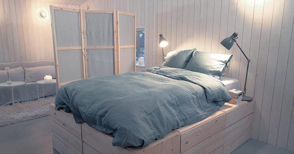 Smarta och snygga compact living-hacks – med Ikeas förvaringssystem Ivar