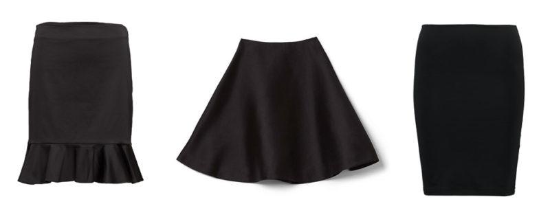 fb106b77d64d Satsa på en svart kjol som passar till allt i basgarderoben.