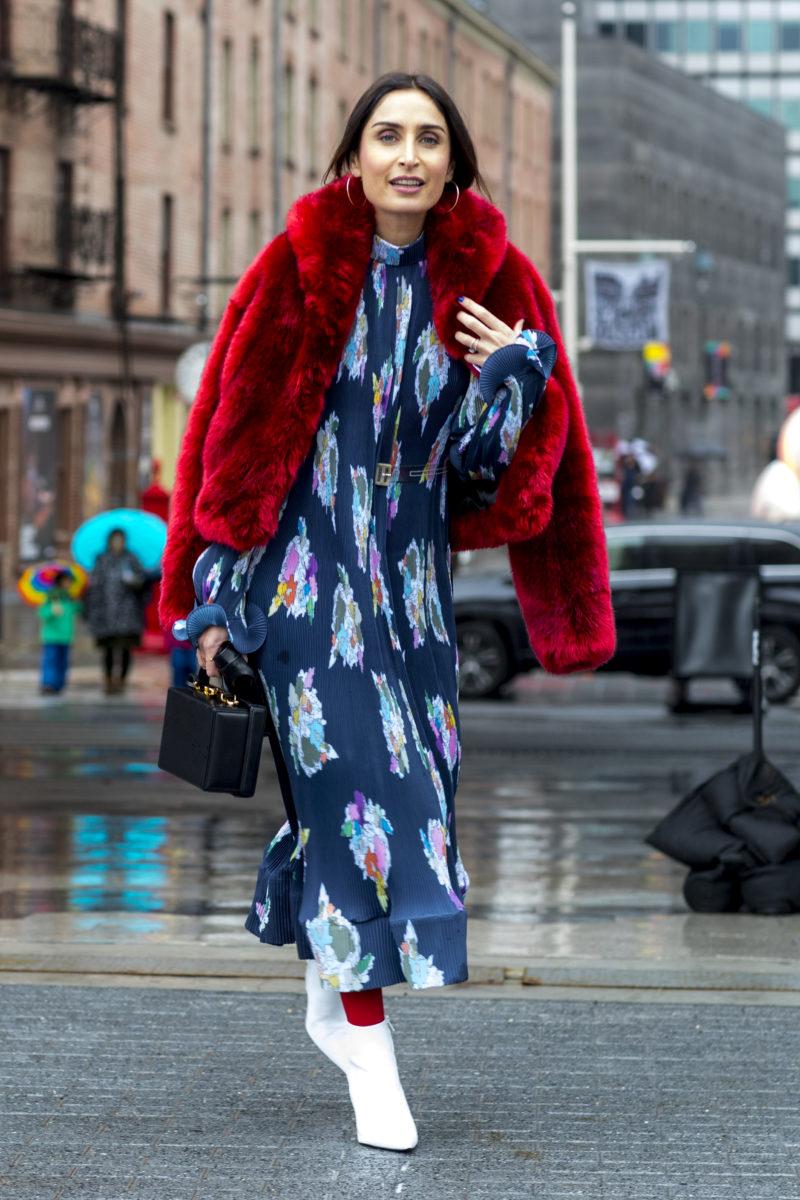 Мода уличная осень зима 2018 2018 фото