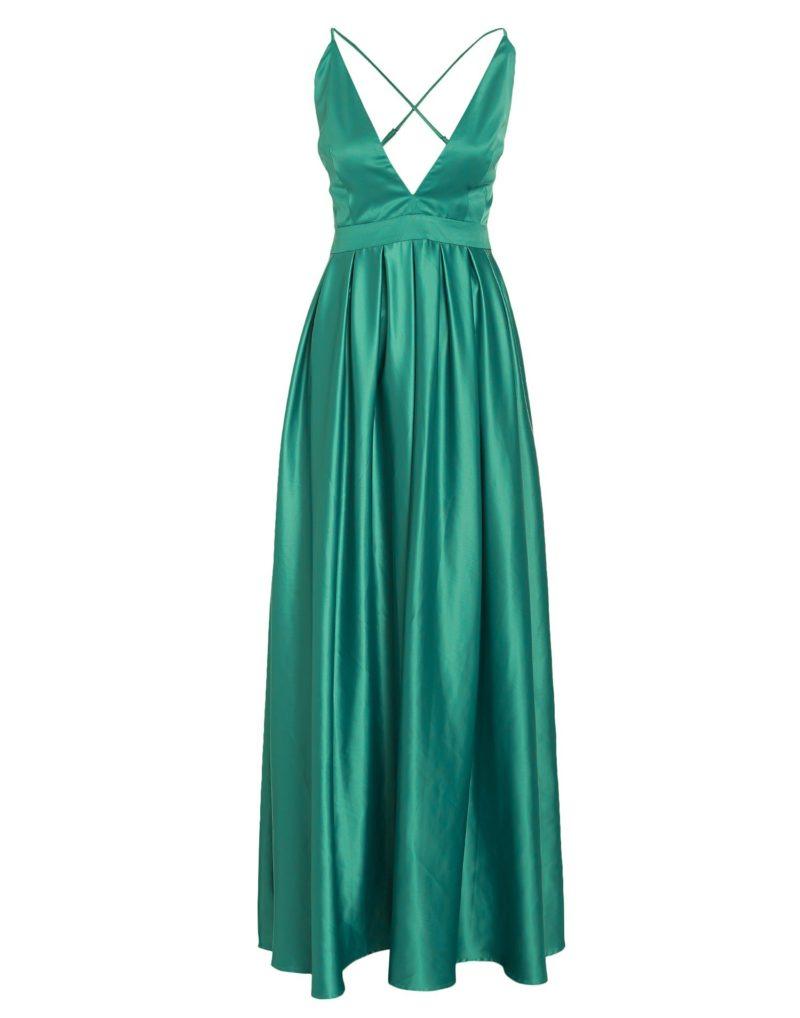Grön maxiklänning från Nly Eve (reklamlänk via Tradedoubler.com) med öppen  rygg. Läs mer och köp här (reklamlänk via Tradedoubler.com) . 1eb5b1f223308