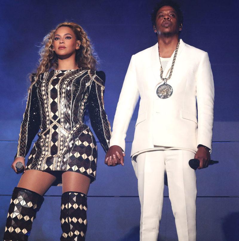 Beyonce och Jay-Z gästar Friends Arena i Stockholm.