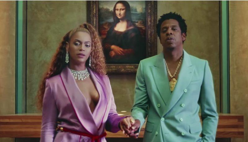 Beyoncé i Peter Pilotto och smycken av By Messika.