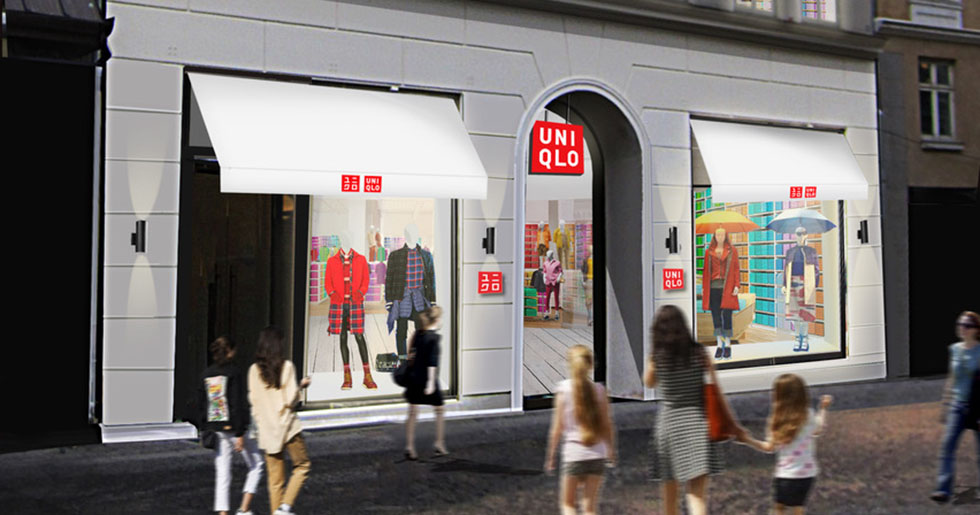 Uniqlo öppnar butik i Köpenhamn