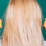 bleka hår med citron