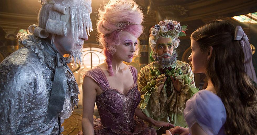 Nötknäpparen och de fyra världarna (The Nutcracker and the four realms) har premiär i november.