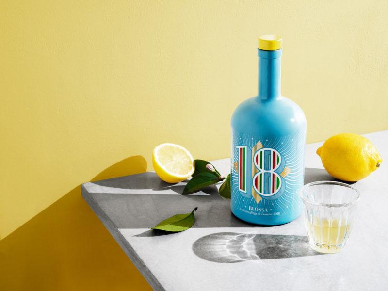 Blossa 2018 - årets smak är Limoncello, basilika, timjan och rosmarin. Blossa 18 di Limone