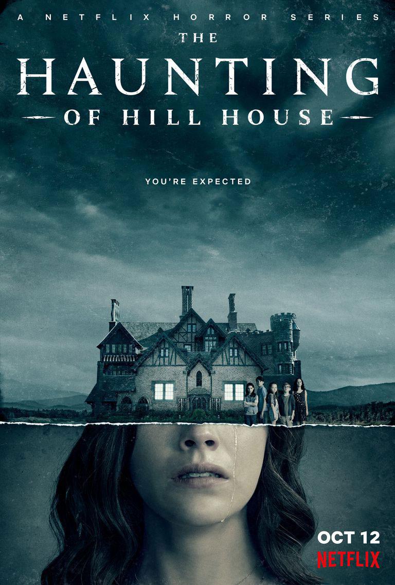 Netflix serie Haunting of Hill house har premiär 12 oktober