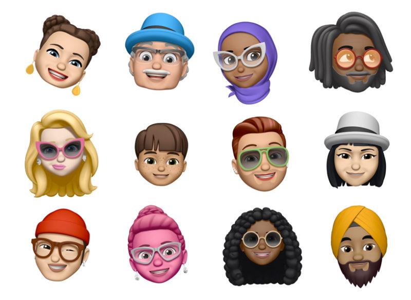 Designa dina egna emojis med nya funktionen Memojis.