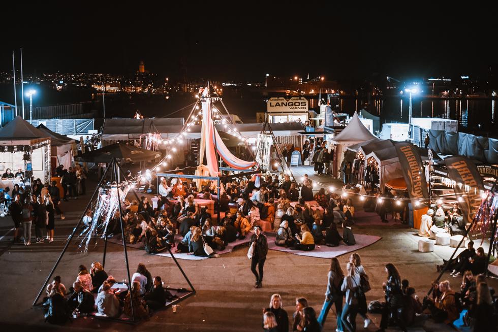 Statement festival 2018 på Bananpiren i Göteborg.