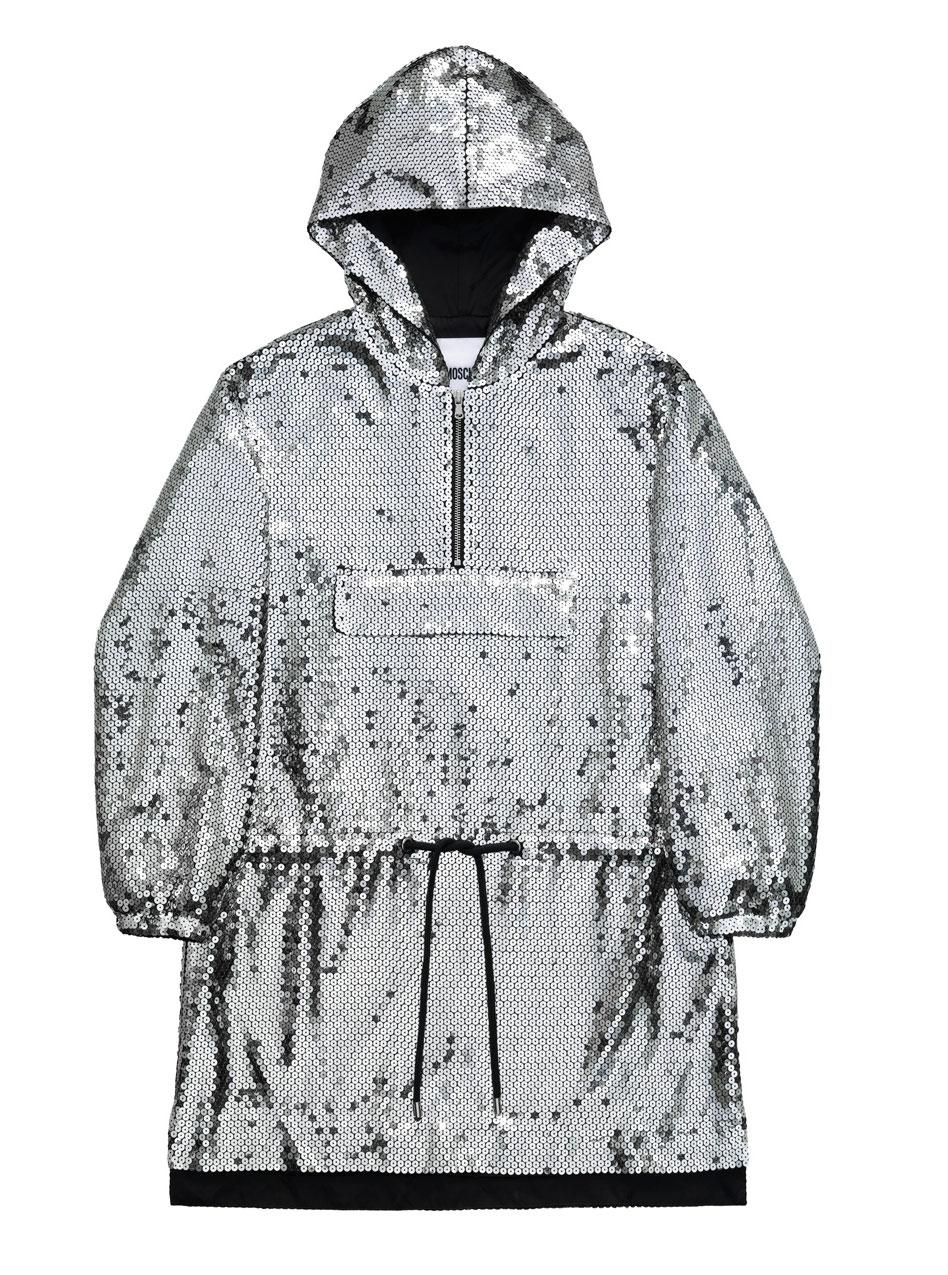 Klänning med silverpaljetter H&M x Moschino