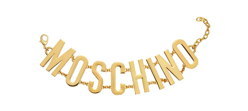 Armband i guld H&M x Moschino
