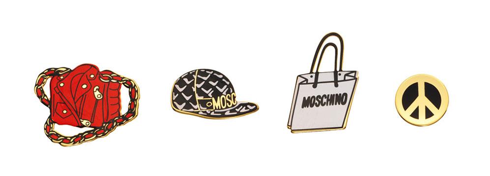 Pins Moschino x H&M