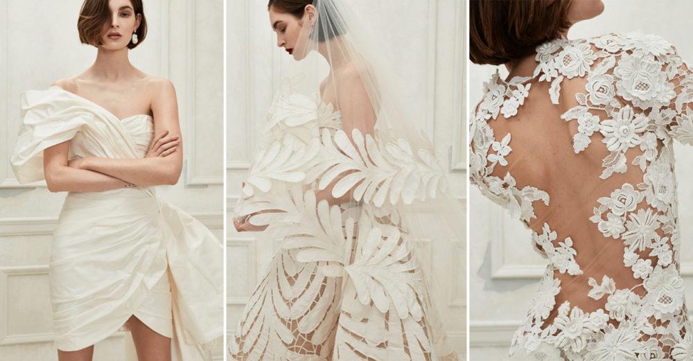 Oscar de la Rentas senaste bröllopskollektion är skapad av Fernando Garcia och Laura Kim