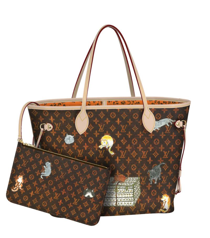 Louis Vuitton x Grace Coddington tote bag