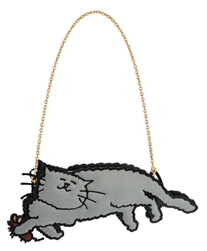 Louis Vuitton x Grace Coddington cat bag