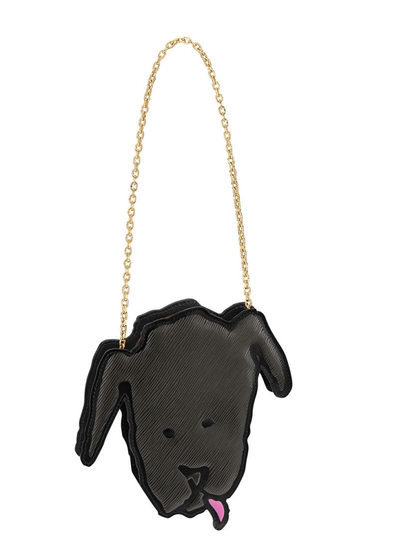 Louis Vuitton x Grace Coddington Léon dog bag