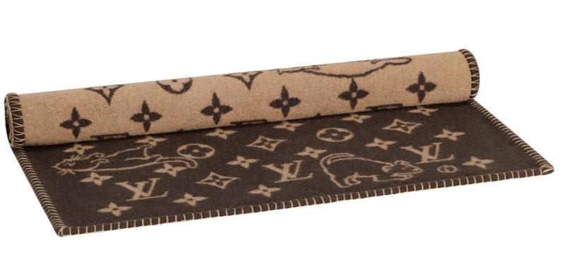 Louis Vuitton x Grace Coddington blanket