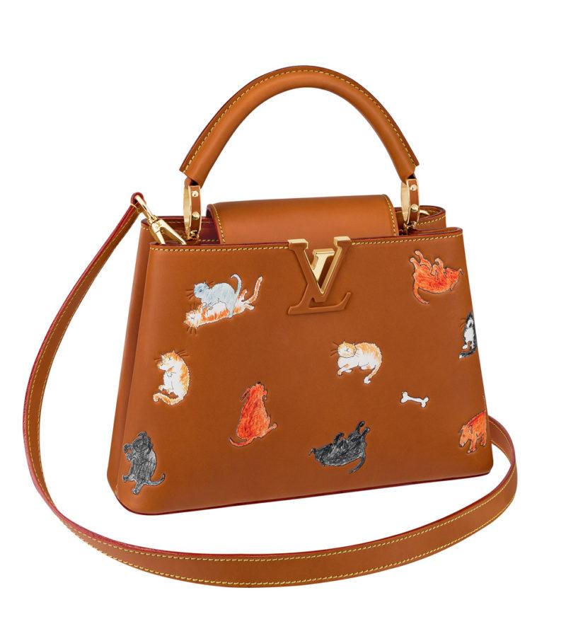 Louis Vuitton x Grace Coddington handbag