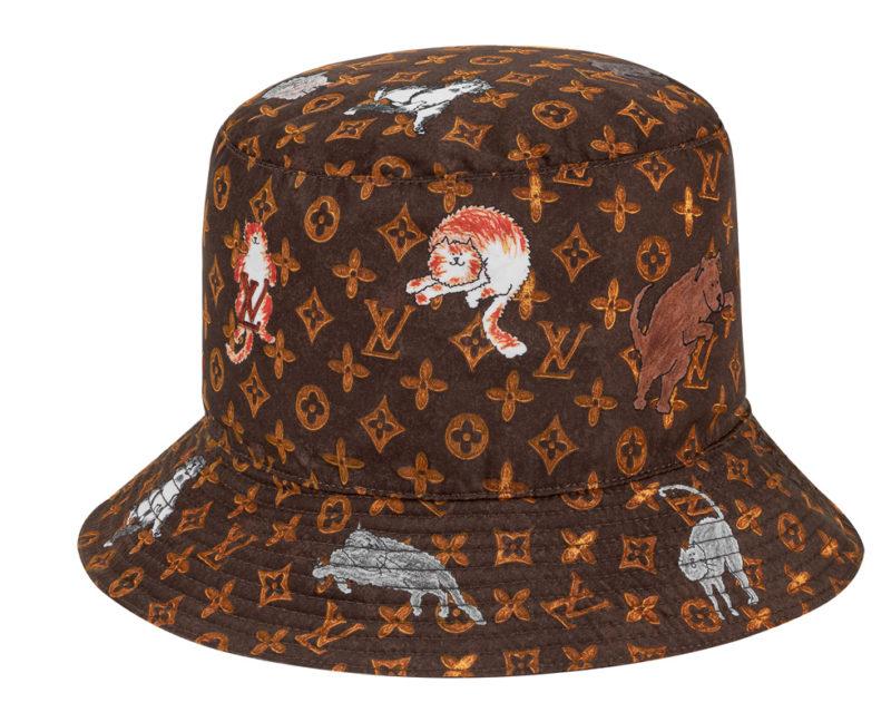 Louis Vuitton x Grace Coddington hatt